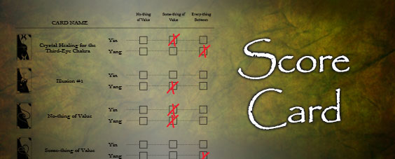 Image of Reflection ScoreCard